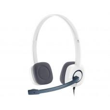 Logitech H150 Headset Head-band White