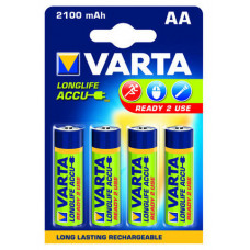 AA Varta 2100mAh NiMH 4 stuks blisterverpakking