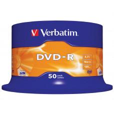 Verbatim DVD-R 4.7 GB 50 stuks spindel 16x