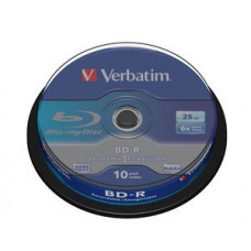 Verbatim BD-R 25 GB 10 stuks spindel 6x