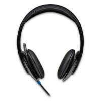Logitech H540 Stereofonisch Hoofdband Zwart