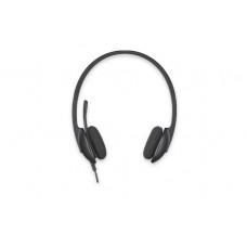 Logitech H340 Headset Head-band Black
