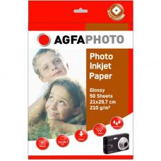 A4 AgfaPhoto Foto Papier 210gr. 50v. Glans