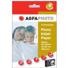 10x15 AgfaPhoto Foto 250 260gr. 50v. Hoog glans