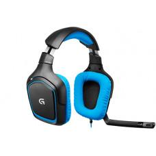 Logitech Gaming Headset G430 zwart/blauw