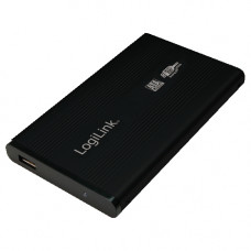 "2.5"" Logilink Enclosure USB3.0 / SATA / Zwart"