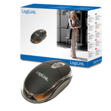 Logilink mini Optical USB Zwart Retail