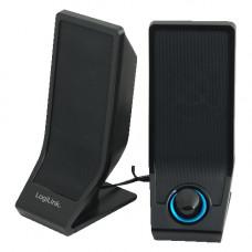 LogiLink 2.0 Active Speaker Zwart