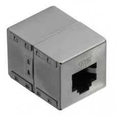 Inline coupler RJ45 Cat6 1:1 Shielded LogiLink