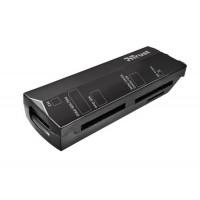 USB2.0 Trust 9-in-1 Stello Zwart