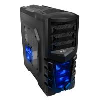 Antec GX505 Window Blue 0 Watt / Midi / ATX
