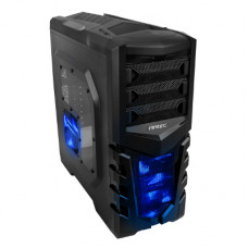 Antec GX505 Window Blue 0 Watt / Midi / ATX