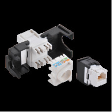 Keystone Jack RJ45 Cat6 Unshielded LogiLink