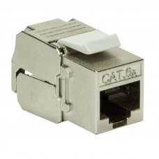 Keystone Jack RJ45 Cat6A Punch-down LogiLink