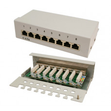 TOE Patch Panel Desktop 8-port CAT6 Grijs LogiLink