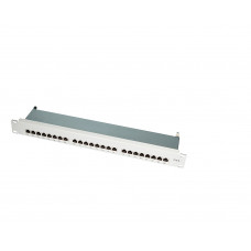 TOE 1U Patch Panel 24-port CAT6 STP Grijs LogiLink