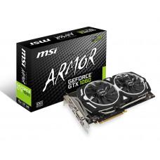 1060 MSI NVIDIA GTX1060 Armor 6G OCV1 DP/HDMI/GDDR5/6GB