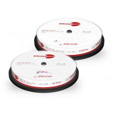 Primeon BD-R 50 GB 10 stuks spindel 8x Printable