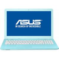 """Asus 15,6"""" i3-7e/4GB/500GB HDD/DVD/EndlessOS/Blauw"""