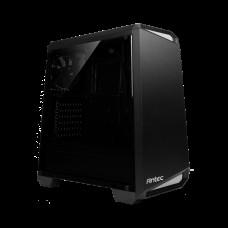 Antec NX100 Gray - Zijraam/USB3.2/Midi/ATX