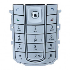 9797438 Nokia Keypad 6230i Silver