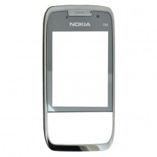 252016 Nokia Front Cover E66 Grey Steel