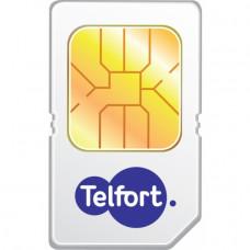 Telfort Prepaid Starterskaart incl. Beltegoed