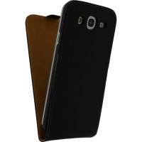 Mobilize Ultra Slim Flip Case Samsung Galaxy Mega 5.8 I9150 Black