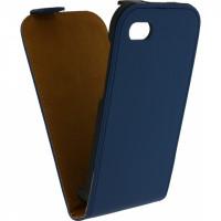 Mobilize Ultra Slim Flip Case BlackBerry Q5 Dark Blue