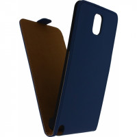 Mobilize Ultra Slim Flip Case Samsung Galaxy Note 3 N9000 Dark Blue