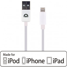 Mobilize Charge/Sync Cable Apple Lightning 1m. White