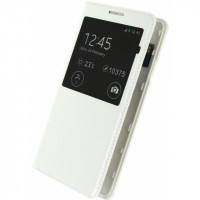 Mobilize S-View Leather Cover Samsung Galaxy Alpha White