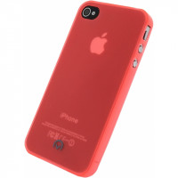 Mobilize Gelly Case Ultra Thin Apple iPhone 4/4S Neon Orange