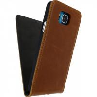 Mobilize Premium Magnet Flip Case Samsung Galaxy Alpha Brown