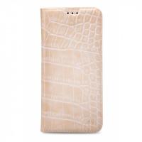 Mobilize Premium Book Case Samsung Galaxy J5 Alligator Coral Pink