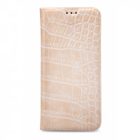 Mobilize Premium Book Case Samsung Galaxy Grand Prime/VE Alligator Coral Pink