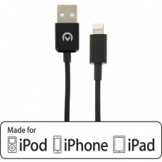 Mobilize Charge/Sync Cable Apple Lightning 1m. Black