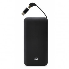 Mobilize Aluminium Slim Power Bank 10000 mAh Black with USB-C