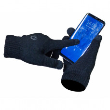Mobilize Touchscreen Gloves 23cm Black