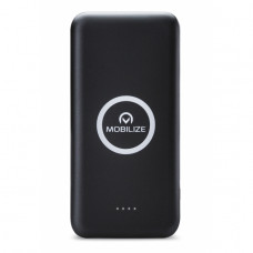 Mobilize Wireless Charging Power Bank 10000mAh Black