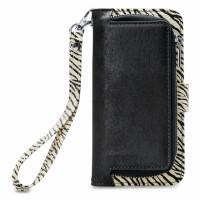 Mobilize 2in1 Gelly Wallet Zipper Case Samsung Galaxy S9 Black/Zebra