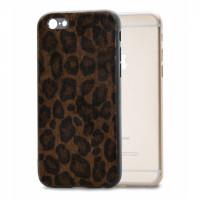 Mobilize Gelly Case Apple iPhone 6/6S Dark Brown Leopard