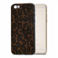 Mobilize Gelly Case Apple iPhone 6/6S Plus Dark Brown Leopard