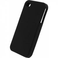 Xccess Silicone Case Apple iPhone 4 Black