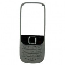 0253978 Nokia Front Cover Excl. Lens 2330 Classic Black