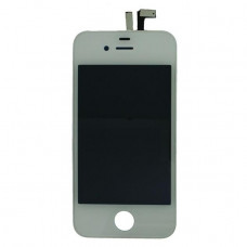 Full Copy LCD-Display incl. Touch Unit for Apple iPhone 4 White
