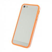 Xccess Bumper Case Apple iPhone 5/5S/SE Transparent/Orange