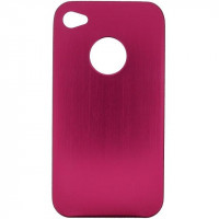 Xccess Hard Metal Cover Apple iPhone 4 Pink