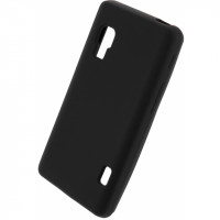 Xccess Silicone Case LG Optimus L5 II Black