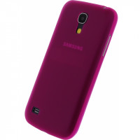 Xccess Thin Case Frosty Samsung Galaxy S4 Mini I9195 Pink
